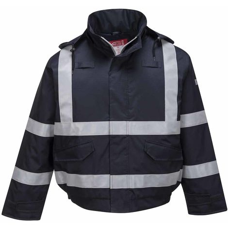 sUw - Safety Workwear Bizflame Rain Multi Protection Bomber Jacket