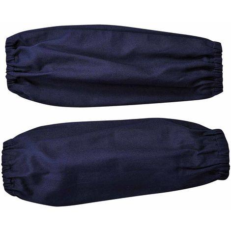 sUw - Safety Workwear Bizweld Sleeves, Navy, One size,