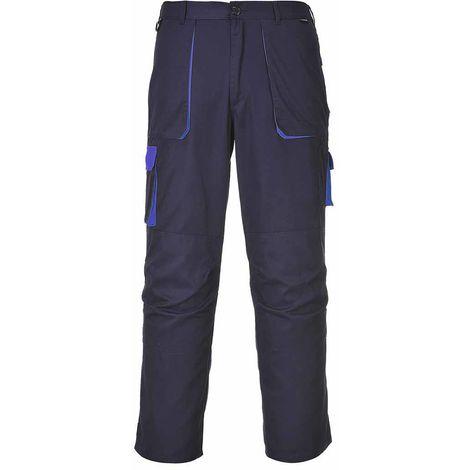 sUw - Texo Hardwearing Workwear Elasticated Cotton Rich Contrast Trouser