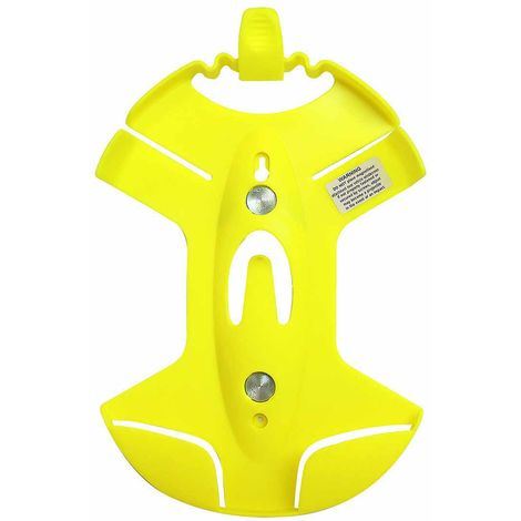 sUw - Universally Mountable Safety Helmet & Spectacle Holder, Yellow, One size,