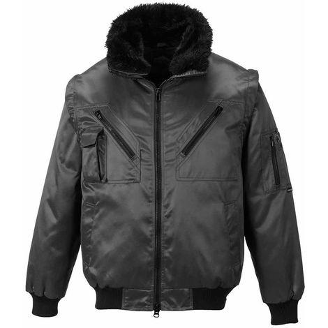 sUw - Versatile All-Weather 4-In-1 Warm Fur Lined Outdoor Pilot Jacket