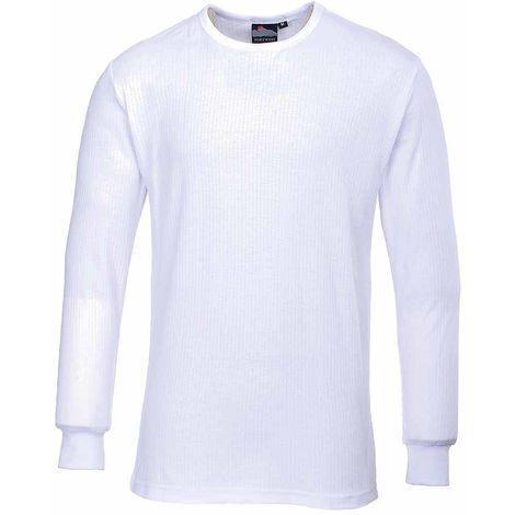 sUw Workwear - Mens Thermal Base Layer Underwear T-Shirt Long Sleeve