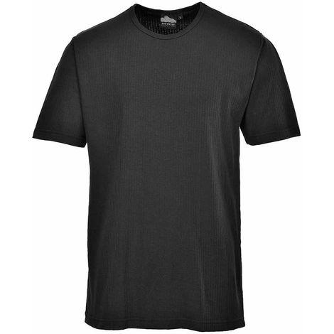 sUw Workwear - Mens Thermal Base Layer Underwear T-Shirt Short Sleeve