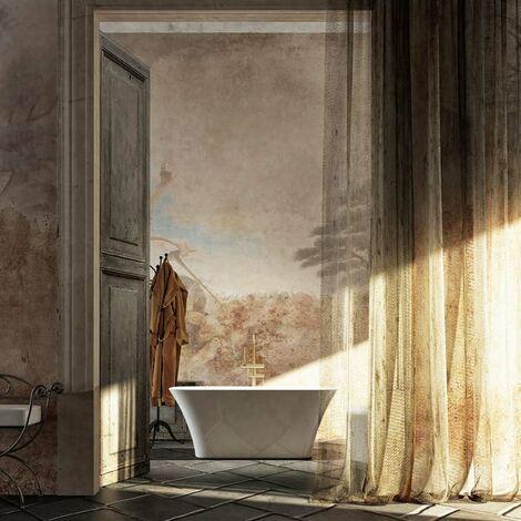 Svase vasca da bagno freestanding 160 x 70 x 64 Gelcoat-Lux® bianco lucido