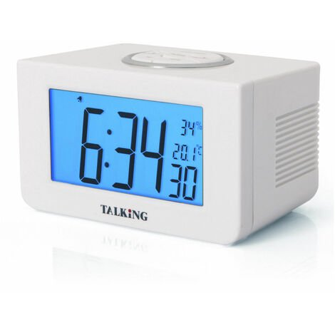 """main image of """"Sveglia digitale parlante con termometro"""""""