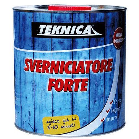 Sverniciatore rapido Teknica solvente forte vernici incrostazioni rimozione acrilico 750ml