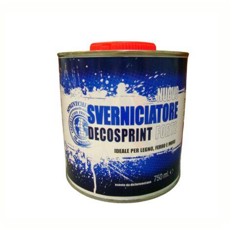 Sverniciatore universale lt 0,750 per metallo legno ferro muro rimuovi vernice