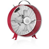 Swan Retro 8 Inch Clock Fan - Different colours available