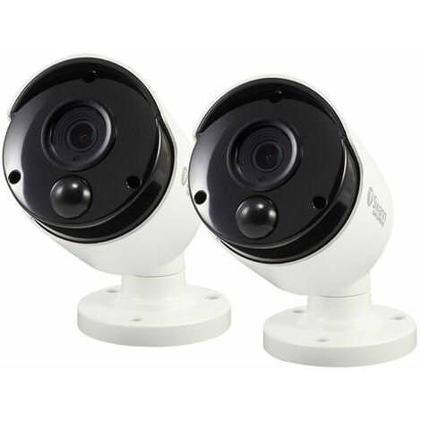 Swann SWPRO-5MPMSBPK2-UK 5MP Bullet Camera with PIR Sensor 2 Pk
