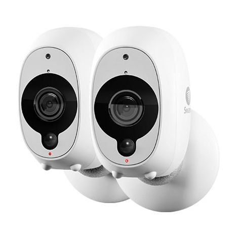 Swann SWWHD-INTCAMPK2-UK Wire-Free Smart Security Camera 2 Pack
