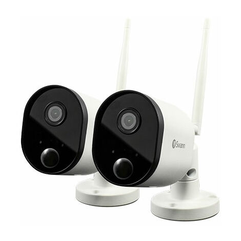 Swann SWWHD-OUTCAMPK2-UK Wi-Fi Outdoor Security Camera 2 Pack