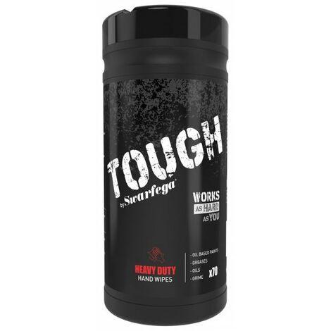 Swarfega Industrial Heavy Duty Antibacterial Wet Hand Wipes - Tub of 70