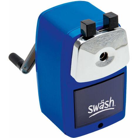 Swash Blue Metal Desktop Sharpener