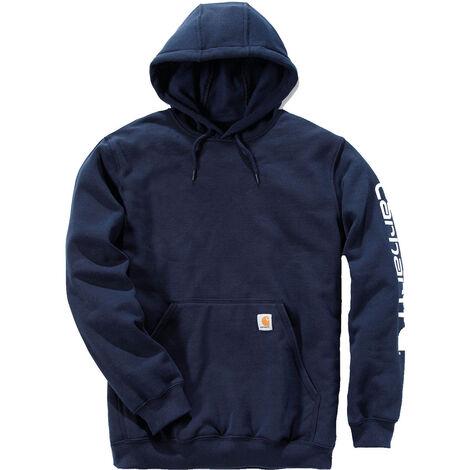 Sweat-shirt capuche logo XXL Navy - Navy