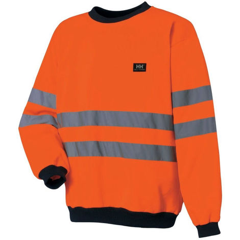 Sweat de travail haute visibilité Mildenhall Helly Hansen Orange