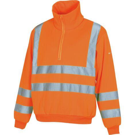 Sweat de travail Würth MODYF haute-visibilité orange