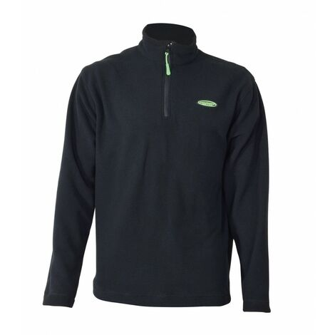 Sweat polaire mch longues 220 gr 1/2 zip-Manufrance