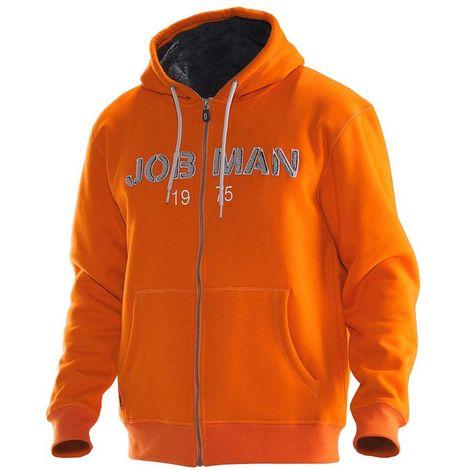 Sweat-shirt à capuche JOBMAN 5154 orange