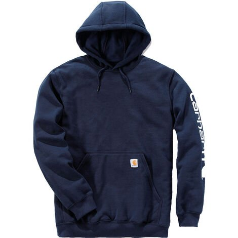 Sweat-shirt capuche logo