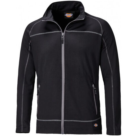 Sweat shirt zippé Dickies Laton Noir