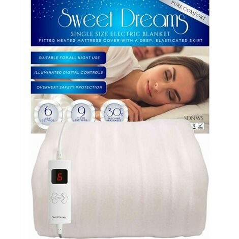 Sweet Dreams Pure Comfort Electric Blanket Dual Control