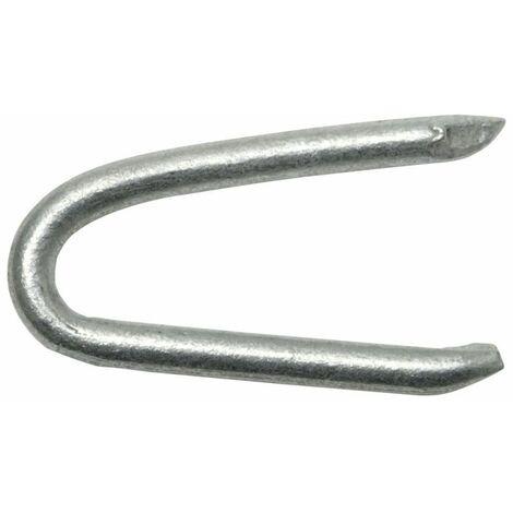 SWG Krampe 2,5 x 25 mm Stahl feuerverzinkt Weite 4.5 mm 70 Stück