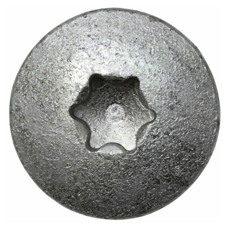 Ruspert silber TX40 Pfostenschrauben 8 x 40