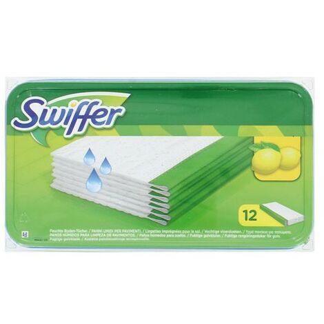SWIFFER - Lingettes humides swiffer x12