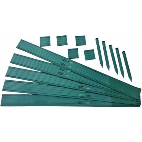 Swift Edge Garden Edging - 12m pack - Green