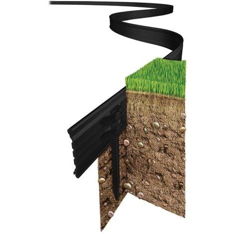 Swift Edge Garden Edging - 6m pack - Black