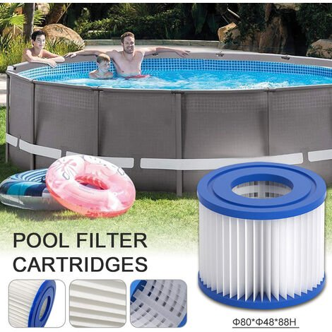 """main image of """"Swimming pool circulating filter water pump, accessory filter element, 80X48X88mm"""""""