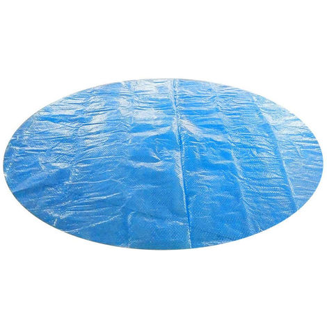 Swimming Pool Cover Easy Set Above Ground Waterproof Dustproof Round Cover Tarp, 5ft