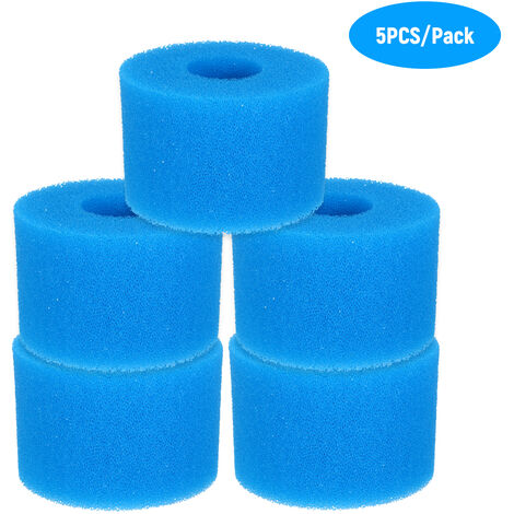 """main image of """"Swimming Pool Filter Cleaning Tool Reusable Washable Sponge Foam Filter Cartridge Replacement"""""""