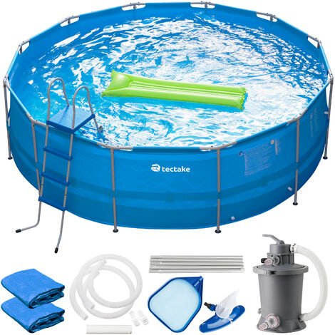 "main image of ""Swimming pool Merina - paddling pool, outdoor swimming pool, garden swimming pool - blue"""
