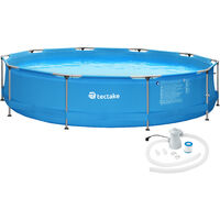 Swimming Pool round with pump