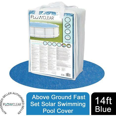 Swimming Solar Pool Cover Ø 417cm