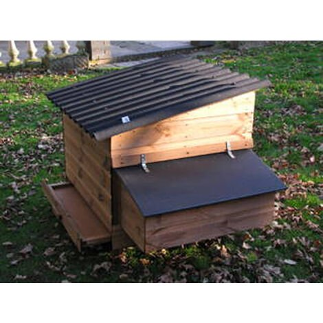 """main image of """"Swinford Poultry House Nest Box - NOT AVAILABLE TO PURCHASE WITHOUT THE SWINFORD POULTRY HOUSE"""""""