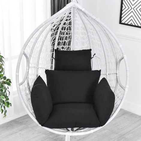 Swing chair cushion mat patio hanging egg chair seat cushion pillow