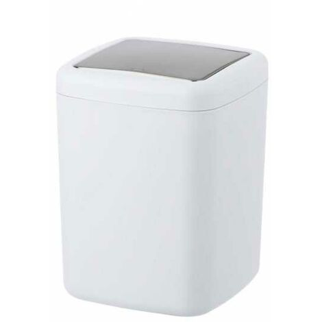 Swing cover bin Barcelona white WENKO