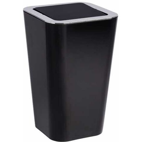 Swing cover bin Candy Black WENKO