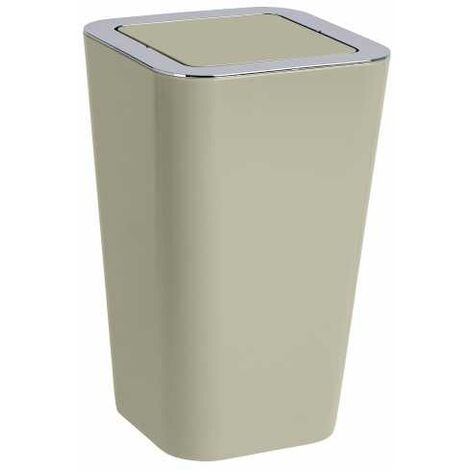 Swing cover bin Candy Taupe WENKO