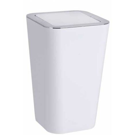Swing cover bin Candy White WENKO