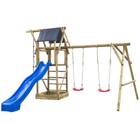 Swing King Playhouse Set Niels Blue Slide 7880112
