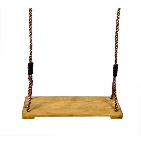 e068b57fdf291 Swing King Siège balançoire en bois de pin imprégné