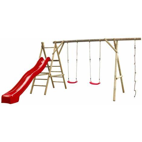 Swing King Swing Set Noortje Red Slide 7880108.RD