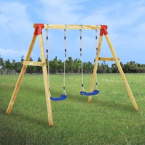 Swing Set 230x130x166 cm Pinewood