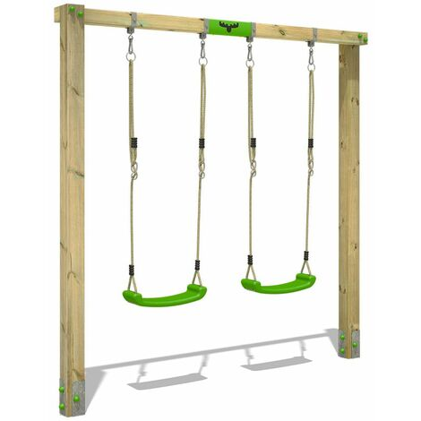 Swing Set FATMOOSE JollyJane Style XXL with DoubleSwing