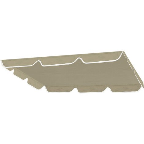 Swing Top Cover Canopy Replacement beige 190X132cm