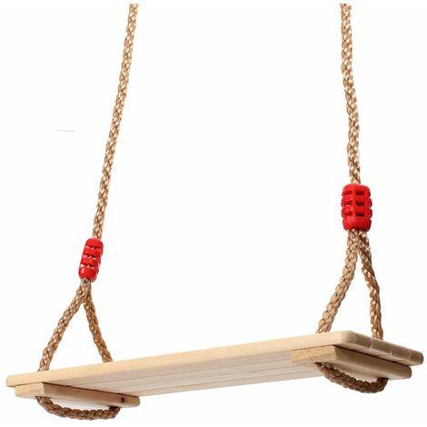 Swing Wood Seat 40x16x1,2cm Birch Toy Outdoor Games Garden Child Adult 120kg MAX.?THE SALE