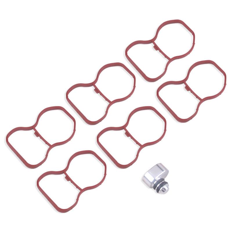 Swirl Flap Flaps Plug Blank Kit De Reparation De Remplacement Adapte Aux Moteurs Diesel Bmw N57 N57S 2.5 3.0 3.5 4.0, Rouge